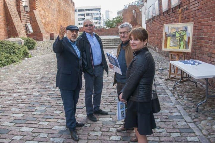 Jerzy Lassota wernisaż na Barbakanie Warszawa 22 maja 2019