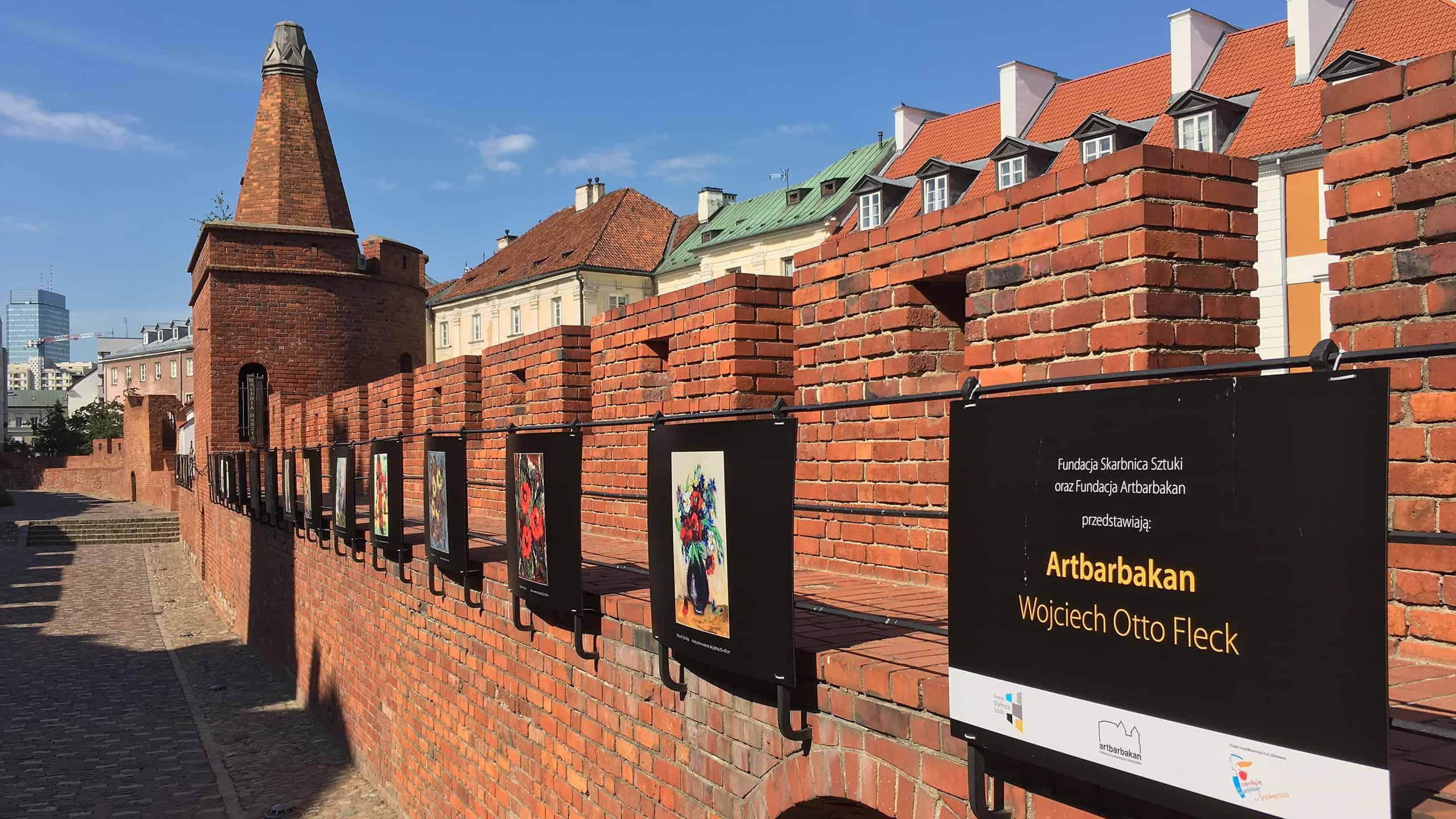 Wystawa reprodukcji obrazów W.O. Flecka zorganizwoana we współpracy Fundacji Skarbnica Sztuki z Fundacją Artbarbakan, fot. Paweł Wroński
