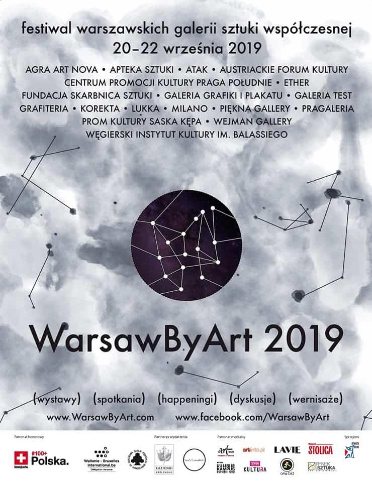 WarsawByArt 2019_PLAKAT
