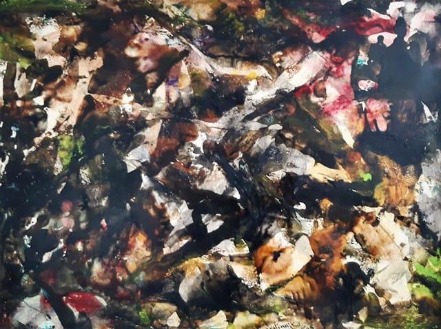 Jan Naliwajko olej na papierze