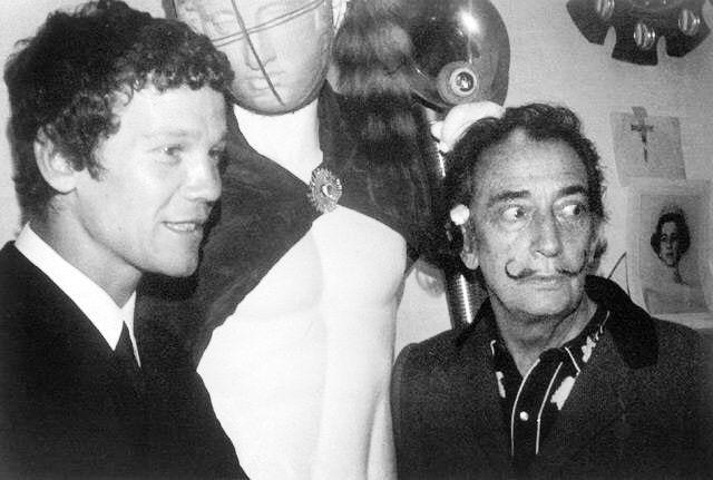 Jan Naliwajko i Salvador Dali