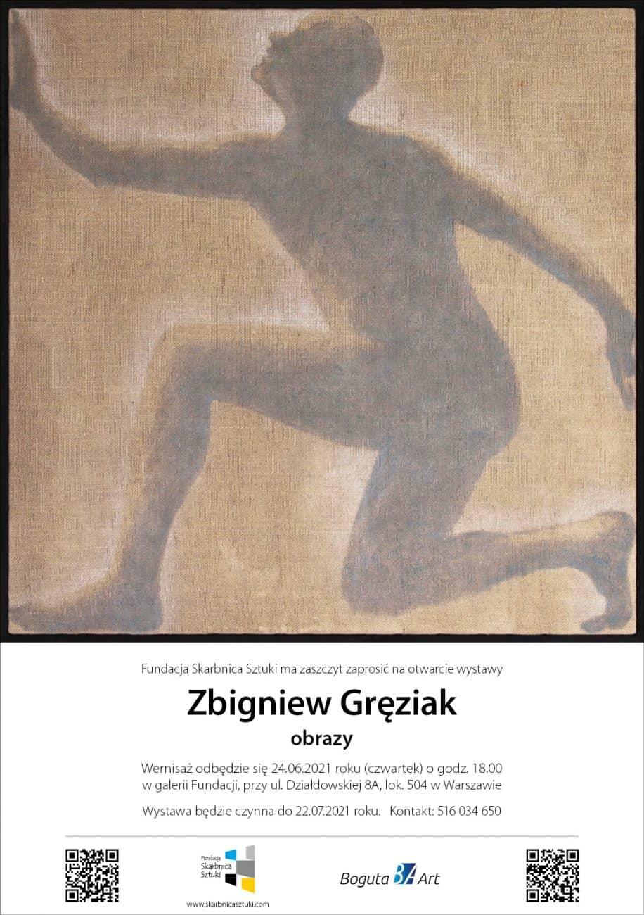 Zbigniew Gręziak wernisaż wystawy artysta malarz