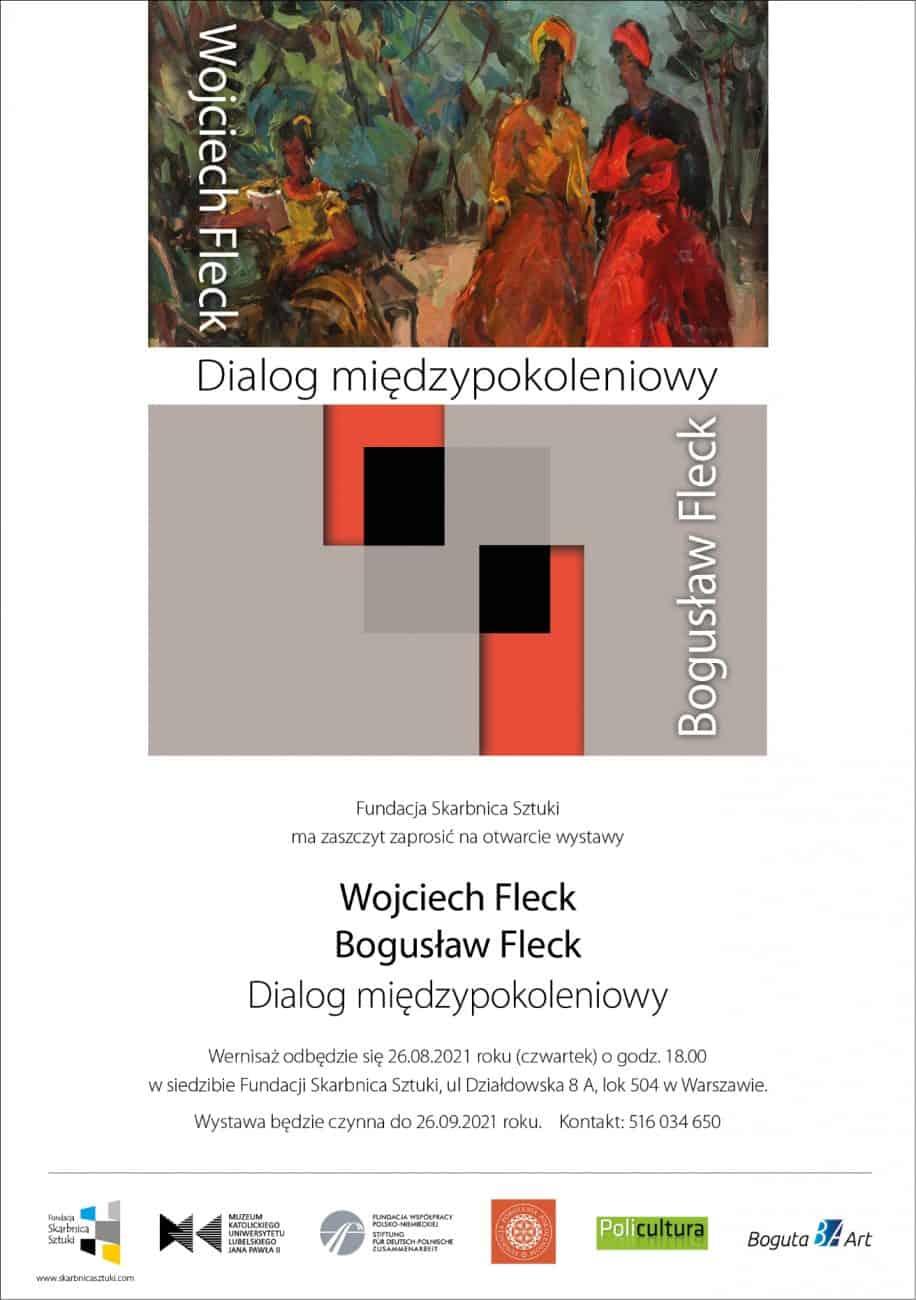 Wernisaż wystawy Wojciech oraz Bogusław Fleck