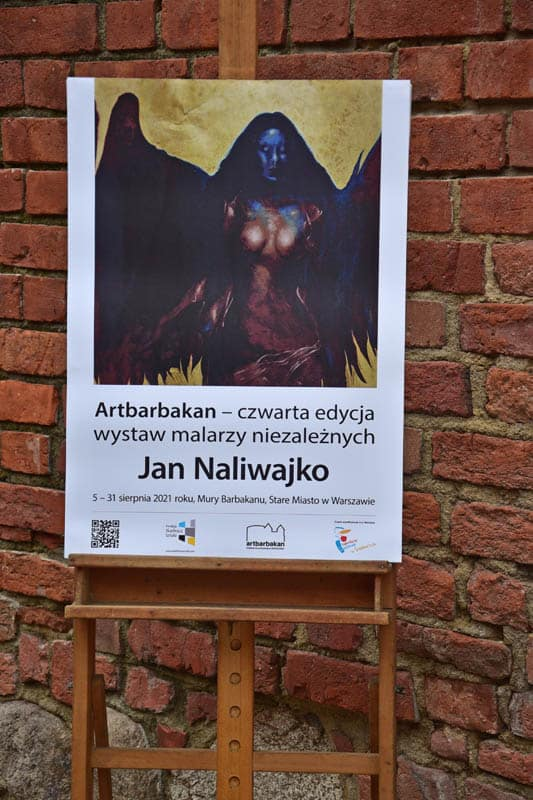 Wernisaż malarstwa Jana Naliwajko